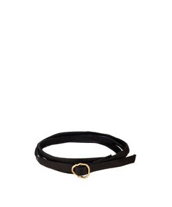 Luis Morais | Yellow-Gold And Leather Bracelet