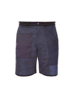 Longjourney   Avo Patchwork Cotton Shorts