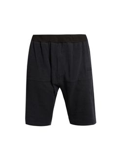 Longjourney   Hangar Raw-Edged Silk Shorts