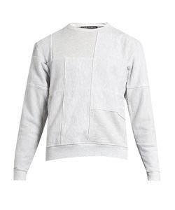 Longjourney   Nash Patchwork Cotton Sweatshirt