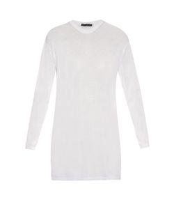 Calvin Klein Collection   Baber Long-Sleeved Cotton-Blend Jersey Top