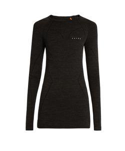 FALKE   Wool Tech Long-Sleeved Performance T-Shirt