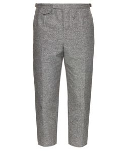 Orley | Pintuck Cotton And Silk-Blend Trousers