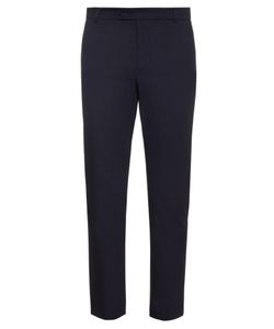 Orley | Flat-Front Cotton-Twill Trousers