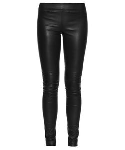 The Row | Moto Stretch-Leather Leggings