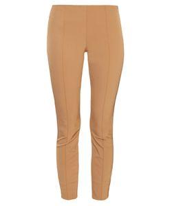 The Row | Caro Slit-Cuff Stretch-Twill Trousers