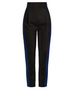 Haider Ackermann | Orbai Side-Stripe High-Waisted Wool Trousers