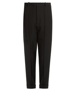Isabel Marant | Jo Tapered-Leg Cropped Wool Trousers