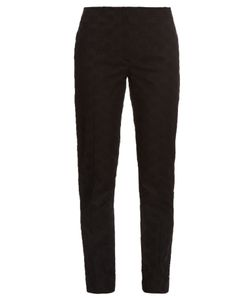 Nina Ricci | Broderie-Anglaise Tapered-Leg Trousers