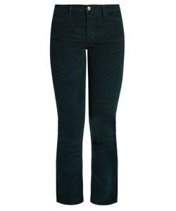 FRAME | Le High Straight-Leg Corduroy Trousers