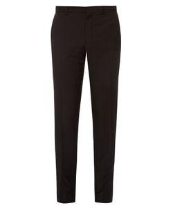 Lanvin   Side-Stripe Tailored Cotton Trousers
