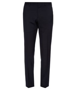 Gucci   Slim-Leg Wool And Mohair-Blend Trousers