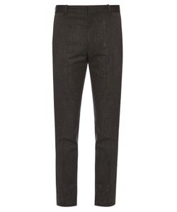 Jil Sander   Slim-Fit Speckled Trousers