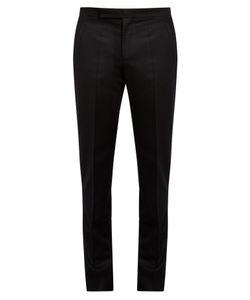 Maison Margiela   Straight-Leg Flannel Trousers