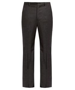 BOTTEGA VENETA   Slim-Fit Wool-Blend Flannel Trousers