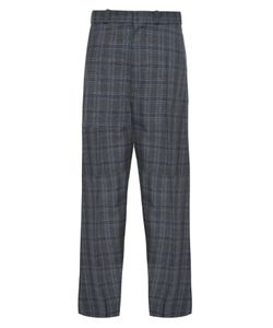 VETEMENTS   Oversized Wide-Leg Checked Trousers
