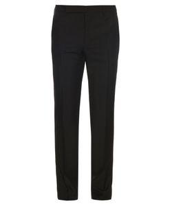 Balenciaga   Wool And Mohair-Blend Trousers