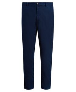 Blue Blue Japan | Slim-Leg Cotton Trousers