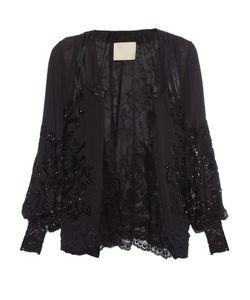 Loyd/Ford | Bead-Embellished Silk-Chiffon Jacket