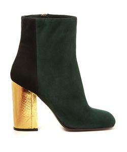 Marni   Bi-Colour Suede Boots