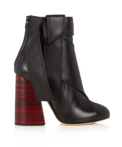 Ellery   Susanna Leather Ankle Boots