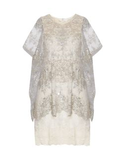 Loyd/Ford | Bead-Embellished Capelet Dress