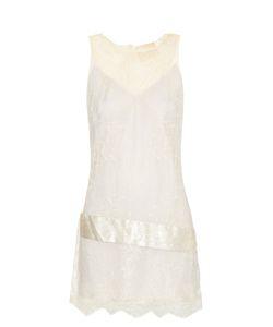 Loyd/Ford | Satin-Waistband Lace Dress