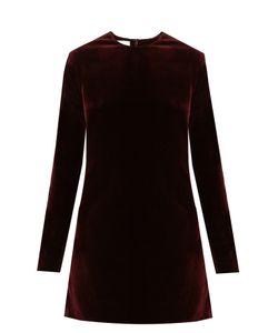 Racil | Ara Cotton-Blend Velvet Dress