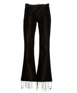 MARQUES'ALMEIDA | Frayed-Edge Flared Jeans