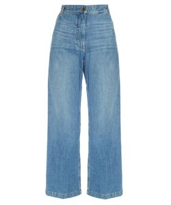 Rachel Comey | Bishop Wide-Leg Cropped Jeans