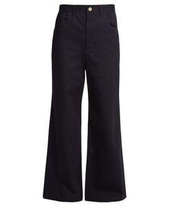 WALES BONNER | Isaac High-Rise Flared Jeans