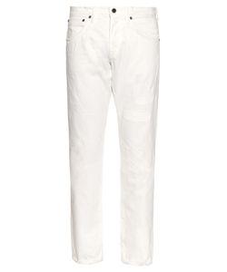 Mastercraft Union   Distressed Straight-Leg Jeans