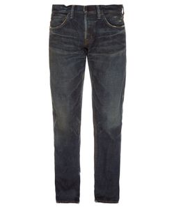 Mastercraft Union   Relaxed Taper Vintage-Wash Jeans