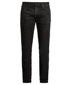 Mastercraft Union   Slim Tapered-Leg Crinkled Jeans