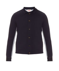 Orley | Bi-Colour Wool And Silk-Blend Knit Jacket