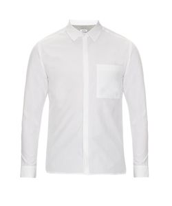 Tim Coppens | Layered Back Point-Collar Shirt