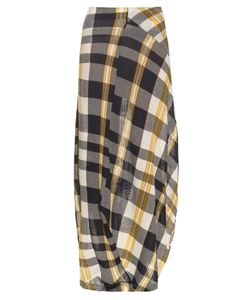 Stella McCartney | Checked Cotton-Knit Skirt