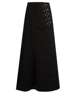 Ellery | Rubinstein Eyelet-Embellished Denim Skirt