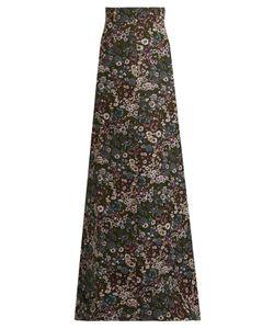 Miu Miu | Floral-Jacquard Maxi Skirt