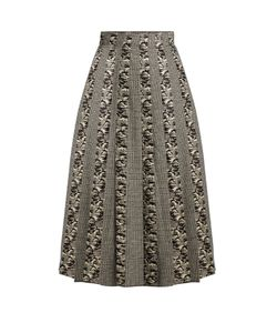 Sophie Theallet | Joline Prince Of Wales-Checked Pleated Skirt