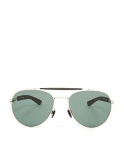 Mykita   Mylon Sloe Stainless-Steel Aviator Sunglasses