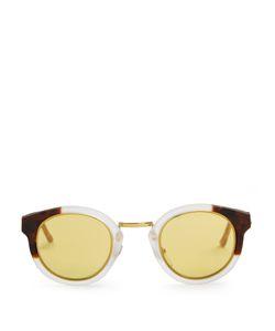 Retrosuperfuture | Panama League Round-Frame Sunglasses