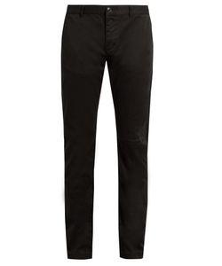 Saint Laurent   Repai Cotton Chino Trousers