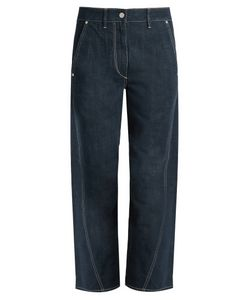 Lemaire | Twisted Straight-Leg Cropped Jeans