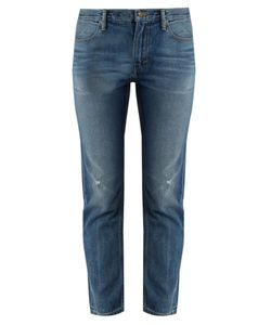 Vince | Distressed Straight-Leg Jeans