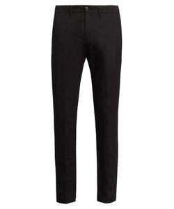 Moncler | Slim-Leg Cotton-Blend Trousers