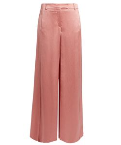 Valentino | Wide-Leg Hamme-Satin Trousers