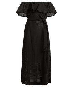 Lisa Marie Fernandez | Mira Off-The-Shoulder Broderie-Anglaise Dress