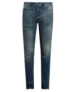 Maison Margiela | Skinny-Leg Distressed Jeans