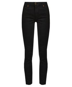 Khaite | Kassandra Mid-Rise Skinny-Leg Jeans